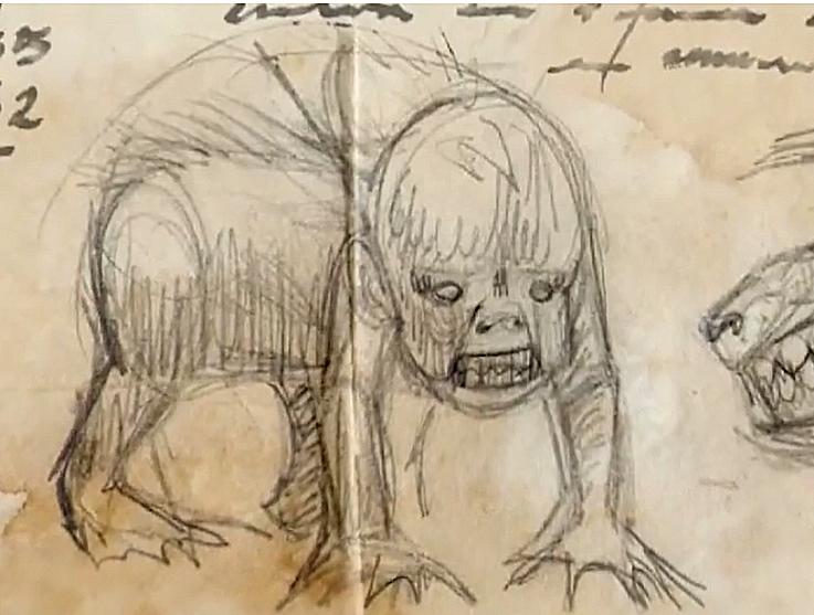 Los Dibujos De Bruno Kulczewski El Falso Documental Sobre Demonios En Chiloe No Se Que Ver